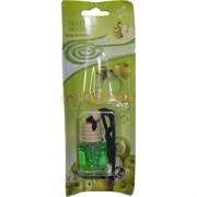 Ароматизатор в машину бутылочка «зеленое яблоко» 12 шт/уп