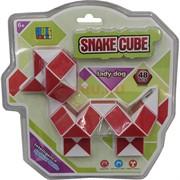 Змейка кубик 48 сегментов Lady Dog Snake Cube