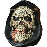 Чашка глиняная «череп с крышкой» кальянная