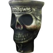 Чашка глиняная «череп Grynbowls» кальянная