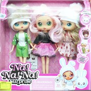 Набор кукол (4534) Na!Na!Na! Surprise 3 шт в наборе