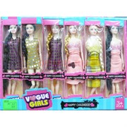 Куклы (RNK4642) Vogue Girls 6 шт в наборе