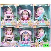 Куклы (Y136) Cry babies 6 шт в наборе