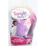 Расческа Tangle Pets детская с мягкой игрушкой