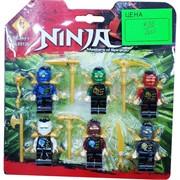 Ниндзя набор из 6 фигурок