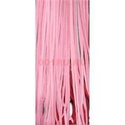 Нитка розовая 80 см из кожзама 100 шт в связке
