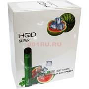 HQD Super 600 затяжек Арбузный беспредел электронный персональный испаритель