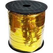 Лента для упаковки 230 м золото 5 мм ширина
