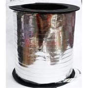 Лента для упаковки 230 м серебро 5 мм ширина