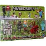 Майнкрафт 3 сезон набор игрушек