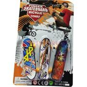 Скейты пальчиковые набор из 3 шт