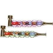 Трубка курительная «6 шариков» металлическая