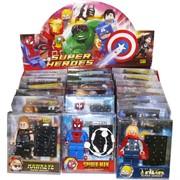 Набор игрушек Супер Герои в стиле лего 18 шт/уп