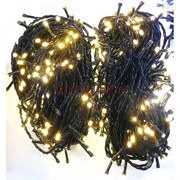 Гирлянда новогодняя LED желтая 8 м