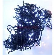 Гирлянда новогодняя LED холодный белый 15 м