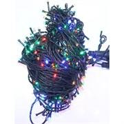 Гирлянда новогодняя LED разноцветная 15 м