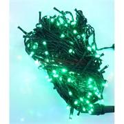 Гирлянда новогодняя LED зеленая 15 м