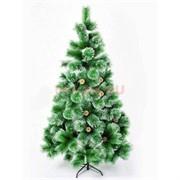 Елка зеленая 150 см заснеженная