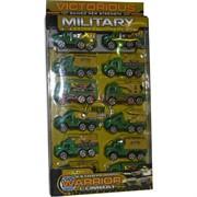 Машинки военные набор 10 шт Victorious Military