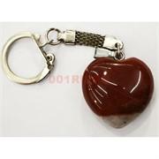 Брелок из яшмы «сердце» большое