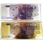 Магнит купюра 500 евро виниловый