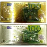 Магнит купюра 100 евро виниловый
