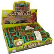 Dinosaur Amazing Expedition сундучок с игрушками 9 шт/уп