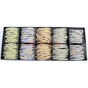 Резинки (E-317) цветные 200 шт/уп