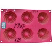 Силиконовая форма (P-907) для выпечки 17,5х29 см цвета в ассортименте 120 шт/кор