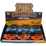 Машинка PUBG внедорожник 12 шт/уп