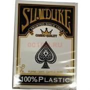 Карты покерные Sunduke 100% пластик