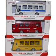 Модель автомобиля «Полиция, Пожарная, Такси» металл