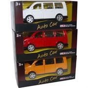 Модель автомобиля Auto Car «минивэн» металл