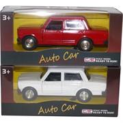 Модель автомобиля Auto Car «жигули» металл