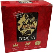 Уголь для кальянов Ecocha 18 кубиков (кокосовый)