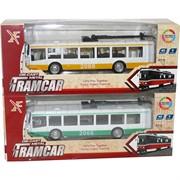 Троллейбус Tramcar металлический (свет, звук) иннерционный