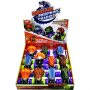 Машинка динозавр иннерционная 12 шт/уп Dinosaur Morphing Chariot