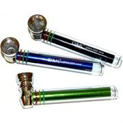 Трубка стеклянная D&K glass pipe 8444S цветная