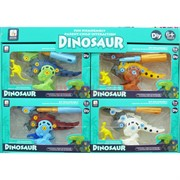 Игрушка Динозавр 8 шт/уп конструктор с растушкой