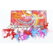 Брелок (KL-1800) резиновый Фламинго 12 шт/уп