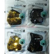 Маска защитная Fashion Mask с пайетками (R-007) расцветки в ассортименте