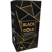 Уголь для кальяна кокосовый Black Gold 22 мм 96 кубиков 1 кг