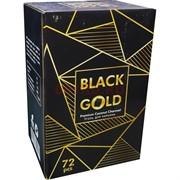 Уголь для кальяна кокосовый Black Gold 25 мм 72 кубика 1 кг