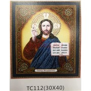 Алмазная мозаика (TC112) Икона 30x40