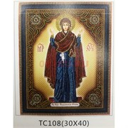 Алмазная мозаика (TC108) Икона 30x40