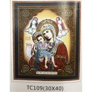 Алмазная мозаика (TC109) Икона 30x40