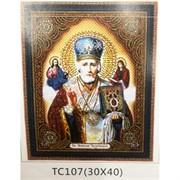 Алмазная мозаика (TC107) Икона 30x40