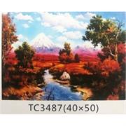 Алмазная мозаика (TC3487) Пейзаж 40x50