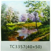 Алмазная мозаика (TC3357) Пейзаж 40x50