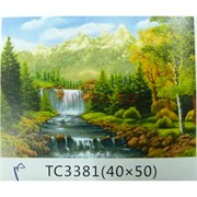 Алмазная мозаика (TC3381) Пейзаж 40x50